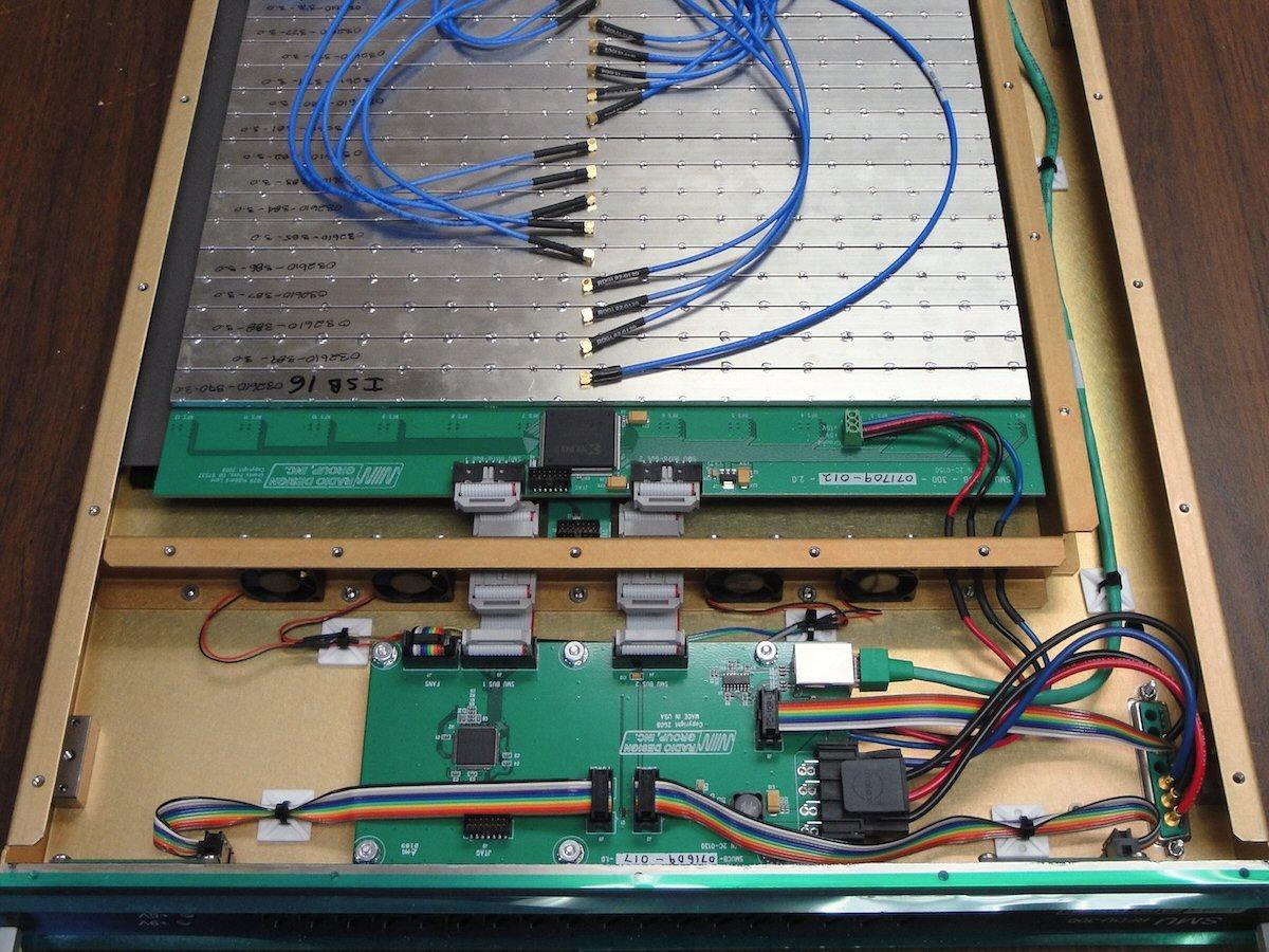 Advanced RFDU switch matrix