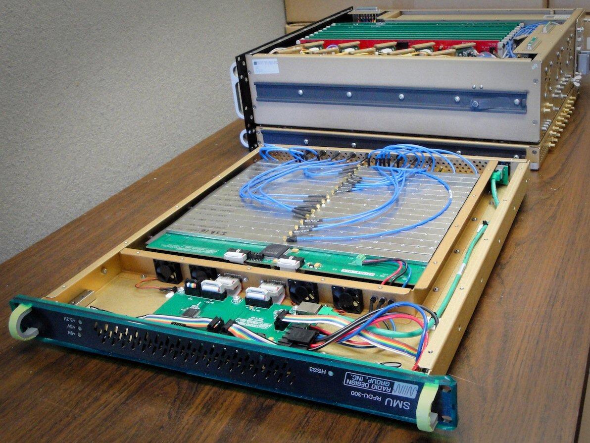 RFDU-300 switch matrix